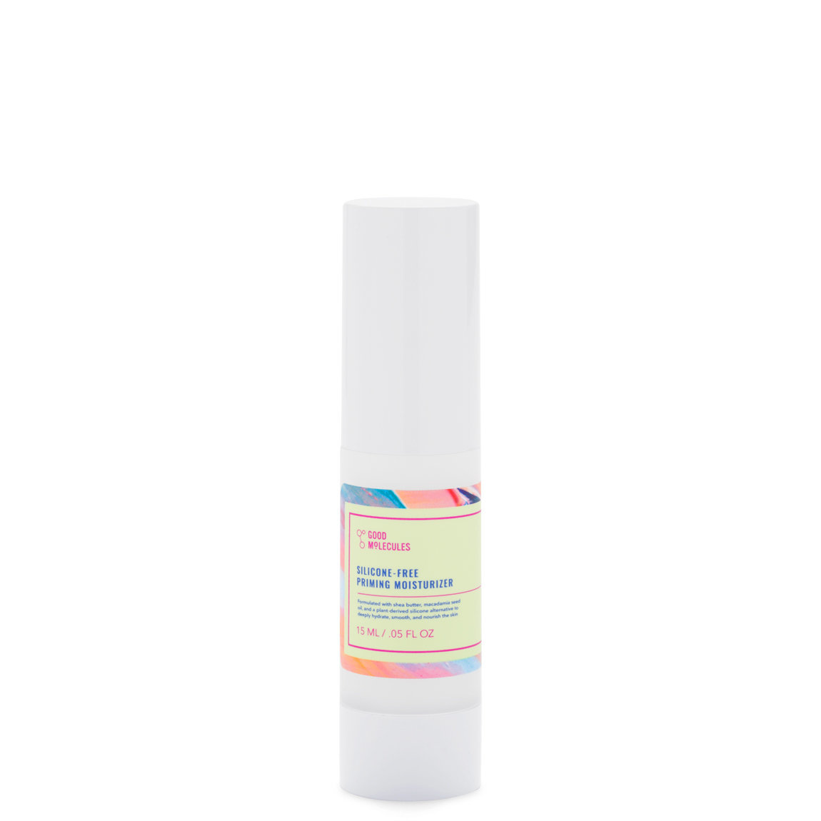Good Molecules Silicone-Free Priming Moisturizer 15 ml product swatch.
