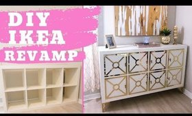 Make cheap furniture look expensive! | Ikea furniture hacks diy