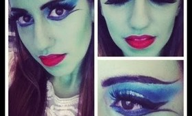 Halloween Lily Munster or Monster Makeup!