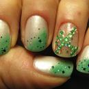 White/Green & Sparkles!