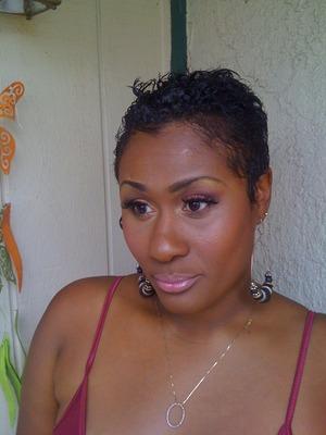 Makeup class Client facebook.com/makeupbyshanilton
