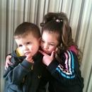 my little niece and nephew