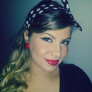 simple pin-up look