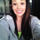 natural makeup, straight hair :)