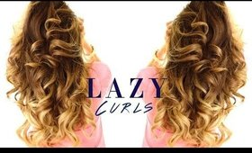 5-Minute LAZY CURLS ★ Easy Waves Hairstyles