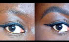 Sparse Eyebrow Tutorial: How I fill in my eyebrows