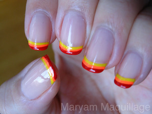 HOT & SPICY NAIL TIPS! http://www.maryammaquillage.com/2012/01/hot-tips-cool-buns.html