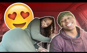 LET'S DO IT IN THE BACKSEAT PRANK ON GIRLFRIEND LEADS TO SOMETHING ELSE 😍