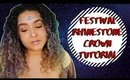 Festival Inspired Makeup: Rhinestone Crown (NoBlandMakeup)