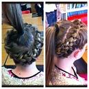 Round the head braid
