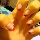 my twist on nail tips