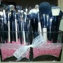My new brush holders!