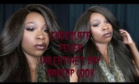 Chocolate Fever: Valentine's Day makeup look