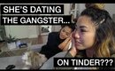 Vlog: She's Dating The Gangster? On Tinder??? | yummiebitez