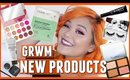 Get Ready With Me Trying NEW Products (Farmacy, Karity, Too Faced, Kiss Lashes & Mellow Cosmetics)