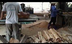 Cách người ta làm ra một cái ván gỗ đẹp