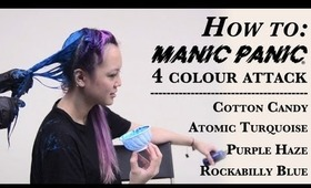 How to: Manic Panic 4 Colour Attack [HD]