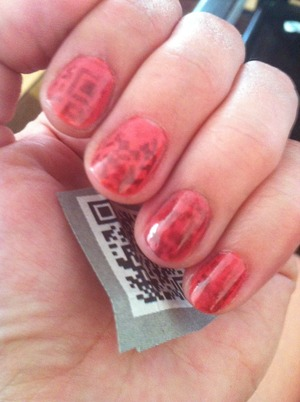 Wet 'n' Wild Pink #437E with barcode transfer