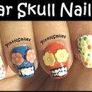 Day of the Dead - Sugar Skull Nail Art