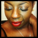 Red Romantic Lips