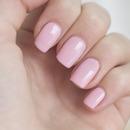 Soft pink nails