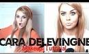 Cara Delevingne Makeup Transformation Tutorial