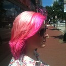 Four colored hair