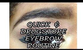 Updated Brow Routine 2016 | Quick & Drugstore!