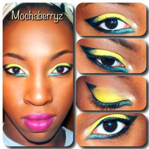 Runway Inspired Eye Makeup.