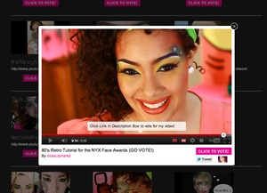 Video Made originally for the NYX Face Awards.