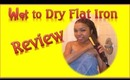 Wet to Dry Flat Iron Review - Ms Toi