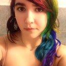 Rainbow hair :D