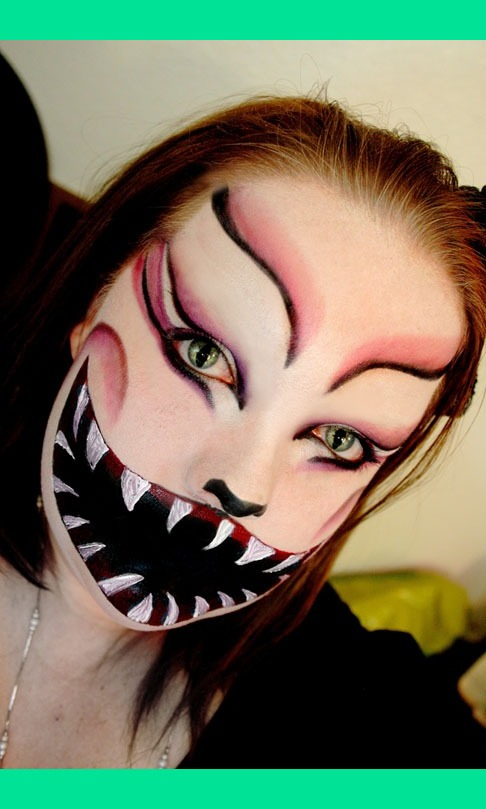 Evil Cheshire Cat Recreation Of Tanja K S Look See It