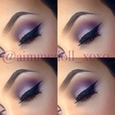 Purple Smokey with GLITTER