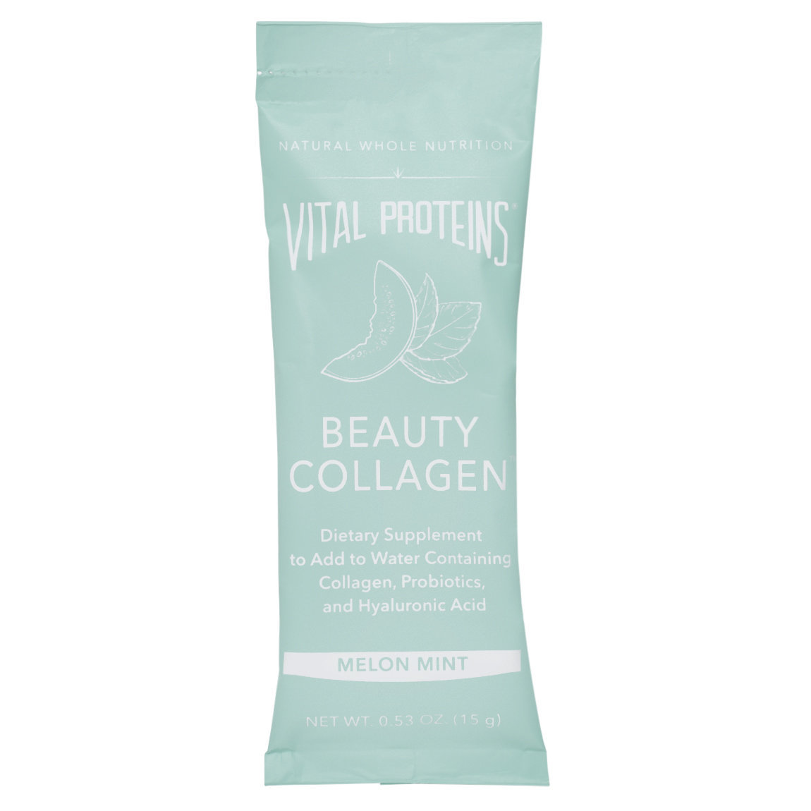 Vital Proteins Beauty Collagen - Melon Mint Stick Packs product swatch.