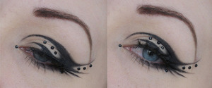 Some playing with the eyeliner :P