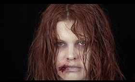 Infected Zombie Make Up Tutorial