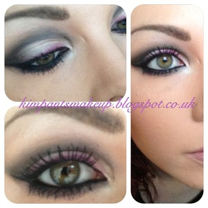 Visit my blog to see how to achieve this look :)