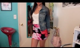 Girly & Floral Spring Outfit of the Day!