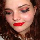 Red Smokey Makeup