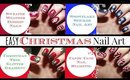 Easy Christmas Nail Art for Beginners!