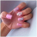 Pale Pink Gel Nails