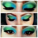 green,blue,dark green,n orange