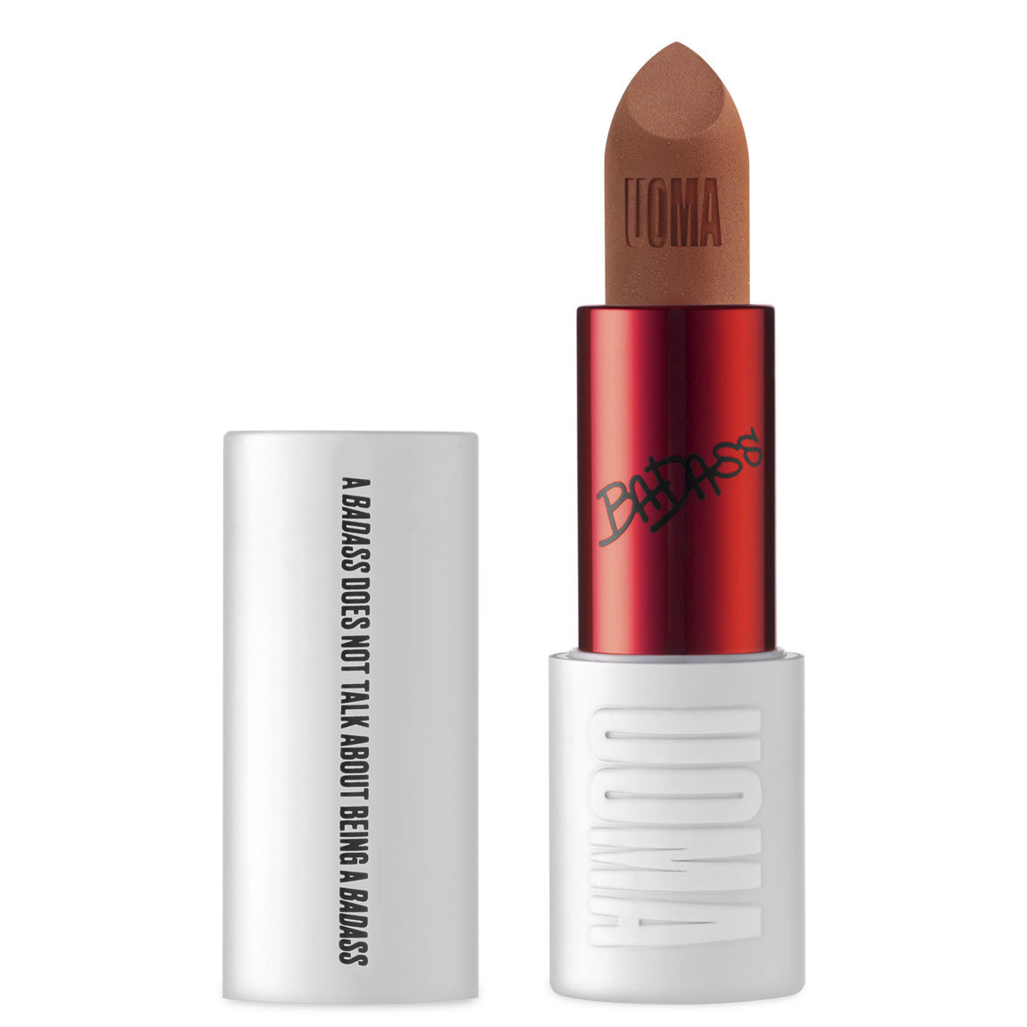 UOMA Beauty BadAss Icon Matte Lipstick Angela alternative view 1 - product swatch.