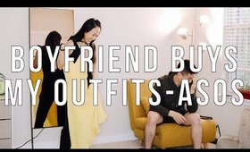 boyfriend does my asos haul + try on / boyfriend buys my outfits couple challenge ✖︎ EverSoCozy