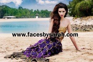 Makeup: Sarah Chaudhry  Hair: Andy Razali  Photography: Imran Chaudhry  Model: Natalia