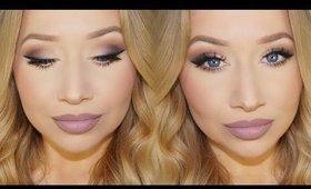 Matte Mauve Makeup Tutorial |Tartelette Palette | TheBeautyVault