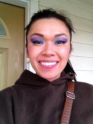 Playing with colors after a bridal trial.   =]