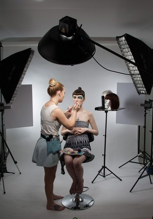 in studio prep