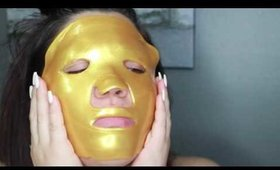 iBeautyLabs 24K Gold Collagen Face Mask Anti Aging Formula